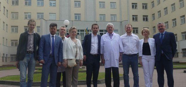 Представники компанії onkoDNA відвідали Львівський онкоцентр